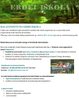 Táborhelyszínek Balatonfenyves Erdei iskola