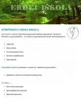 Táborhelyszínek Kőröshegy Erdei Iskola