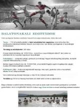 Táborhelyszínek Balatonakali B Edzőtábor