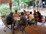 Táborhelyszínek Balatonalmádi Ifjúsági Tábor büfé terasz