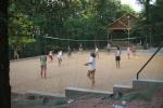 Táborhelyszínek Balatonalmádi Ifjúsági Tábor homokos sportpálya