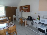 Táborhelyszínek Balatonalmádi turistaszálló konyha