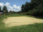 Táborhelyszínek Balatonrendes Pálköve tábor röplabdapálya