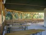Táborhelyszínek Ceglédfürdő Ifjúsági Tábor terasz