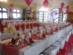 Táborhelyszínek Kőszeg Panzió étterem díszítve