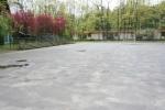 Táborhelyszínek Tata Ifjúsági Tábor sportpálya lelátóval