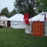Táborhelyszínek, Kerecsend Ifjúsági Tábor jurtatábor