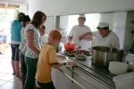 Táborhelyszínek Mezőkövesd Ifjúsági Tábor étkezés