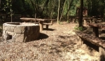 Táborhelyszínek, Parádfürdő Ifjúsági Tábor tűzrakóhely