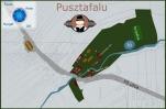 Táborhelyszínek, Pusztafalu Ifjúsági Tábor térkép