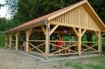 Táborhelyszínek, Szilvásvárad Ifjúsági Tábor fedett terasz