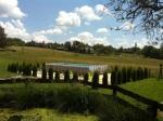 Táborhelyszínek, Szalafő Fogadó medence és kerti tó