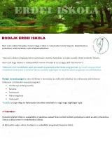 Táborhelyszínek Bodajk Erdei Iskola