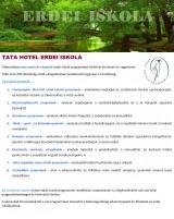 Táborhelyszínek Tata Hotel Erdei Iskola