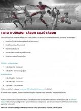 Táborhelyszínek Tata Ifjúsági Tábor Edzőtábor