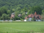 Táborhelyszínek, Magyarhertelend Tábor, községi futballpálya