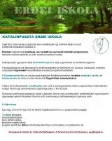 Táborhelyszínek, Katalinpuszta Erdei Iskola