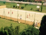 Táborhelyszínek, Siófok Ifjúsági Hotel, homokos sportpálya