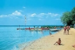 Táborhelyszínek, Siófok Ifjúsági Hotel, strand
