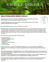 Táborhelyszínek, Balatonalmádi Erdei Iskola