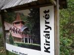 Táborhelyszínek, Királyrét Fogadó és Erdei Hotel útbaigazítás