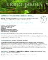 Táborhelyszínek Sopron Erdei Iskola