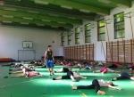 Táborhelyszínek, Balatonföldvár Panzió és Tábor, iskolai tornacsarnok