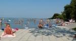 Táborhelyszínek, Siófok Üdülő és Tábor, Siófok strand
