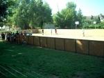 Táborhelyszínek Balatonszemes P tábor homokos focipálya
