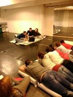 Táborhelyszínek Kőröshegy Ifjúsági Tábor épület foglalkoztató