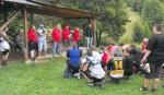 Táborhelyszínek Őrimagyarósd Ifjúsági Tábor esőbeálló, udvar