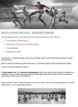 Táborhelyszínek Balatonakali A Edzőtábor