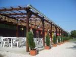 Táborhelyszínek, Balatonakali Ifjúsági Tábor étterem terasz
