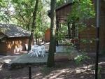 Táborhelyszínek Balatonalmádi Ifjúsági Tábor apartman faházak