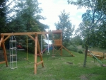 Táborhelyszínek Kőszeg Panzió udvar, játszótés