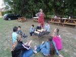 Táborhelyszínek Szaknyér Ifjúsági Tábor kürtöskalács készítés