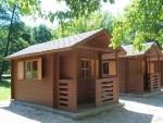 Táborhelyszínek Tata Hotel és Ifjúsági Tábor faházak