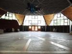 Táborhelyszínek Tata Ifjúsági Tábor csillag épület belülről