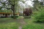 Táborhelyszínek Tata Ifjúsági Tábor part, épületek