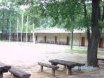 Táborhelyszínek Tata Ifjúsági Tábor zászlófelvonás