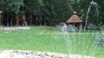 Táborhelyszínek, Bánvölgye Ifjúsági Tábor kerti tó, udvar