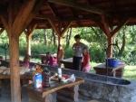 Táborhelyszínek, Bánvölgye Ifjúsági Tábor sütés főzés