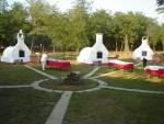 Táborhelyszínek, Csemő Ifjúsági Tábor kemencék