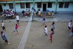 Táborhelyszínek Mezőkövesd Ifjúsági Tábor udvar röplabda