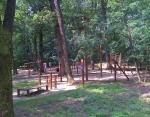 Táborhelyszínek, Nyíregyháza Ifjúsági Tábor erdei játszótér