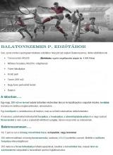 Táborhelyszínek Balatonszemes P. edzőtábor