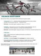 Táborhelyszínek Velence Ifjúsági Tábor Edzőtábor
