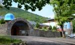 Táborhelyszínek, Magyarhertelend Tábor, Termálfürdő bejárat