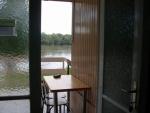 Táborhelyszínek, Szentendre Ifjúsági Tábor, komfortos faház kilátás