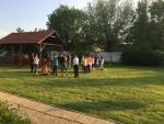 Táborhelyszínek, Dég Panzió és Ifjúsági Tábor, udvar részlet